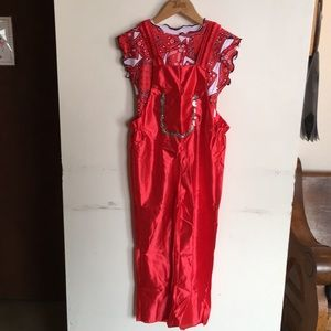 Loshin's Red Cowgirl Dance Costume